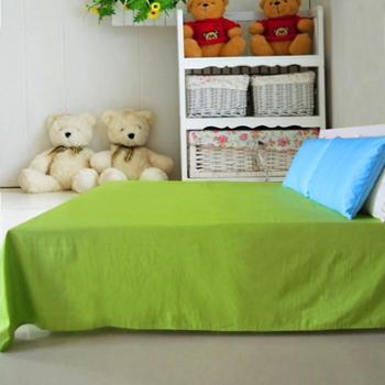 富贵百年 精梳全棉素色纯色床单250*250cm 16色可选 可与被套镇枕套自由搭配
