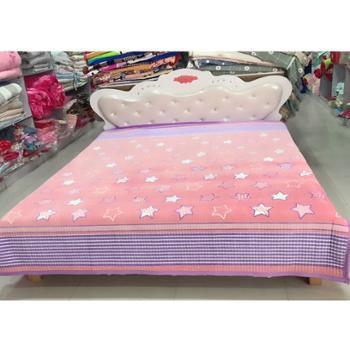 金盛雪亮2.3米*2米四季床毯(花型随机发,尺寸略有误差,请以实际尺寸为准)