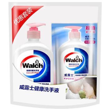 威露士健康抑菌倍护滋润洗手液(525ml+250ml袋)