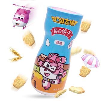 捷客超级飞侠每日饼干(奶味)90g