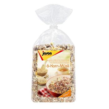 捷森六种谷物麦片500g