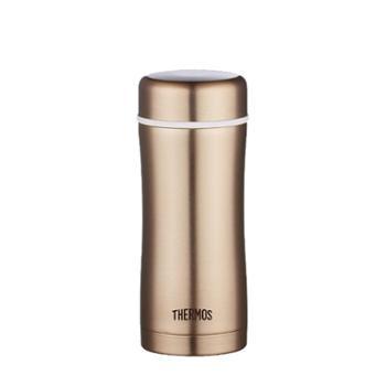 Thermos膳魔师双层不锈钢茶滤杯TCCG-400 400ml GL金色