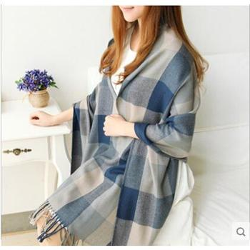 羚羊早安针织围巾wh289