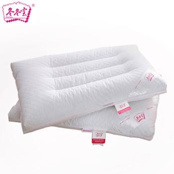 冬冬宝纯荞麦枕芯助眠枕头全棉面料舒适助眠护颈枕一对拍2