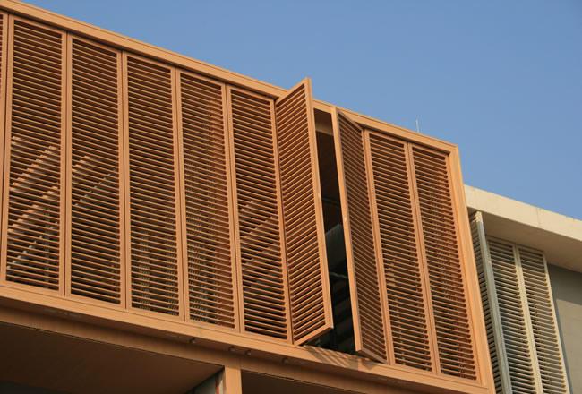 生态木长方料系列主要用于格栅