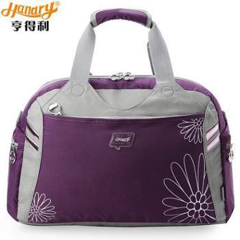 亨得利大容量手提旅行包女运动健身短途旅游女包潮出差男小行李袋_3898