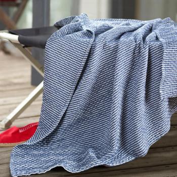 襄子全棉宅品复古毛巾被