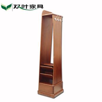 双叶家具 实木穿衣镜 带抽屉 隔板储物 穿衣镜