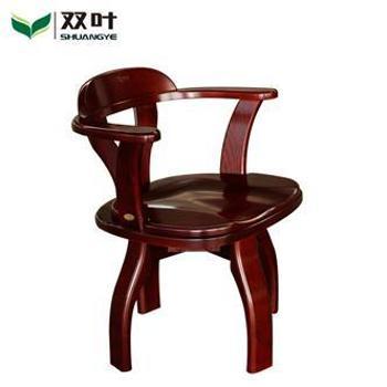 双叶家具 现代中式 实木 书桌椅 转椅