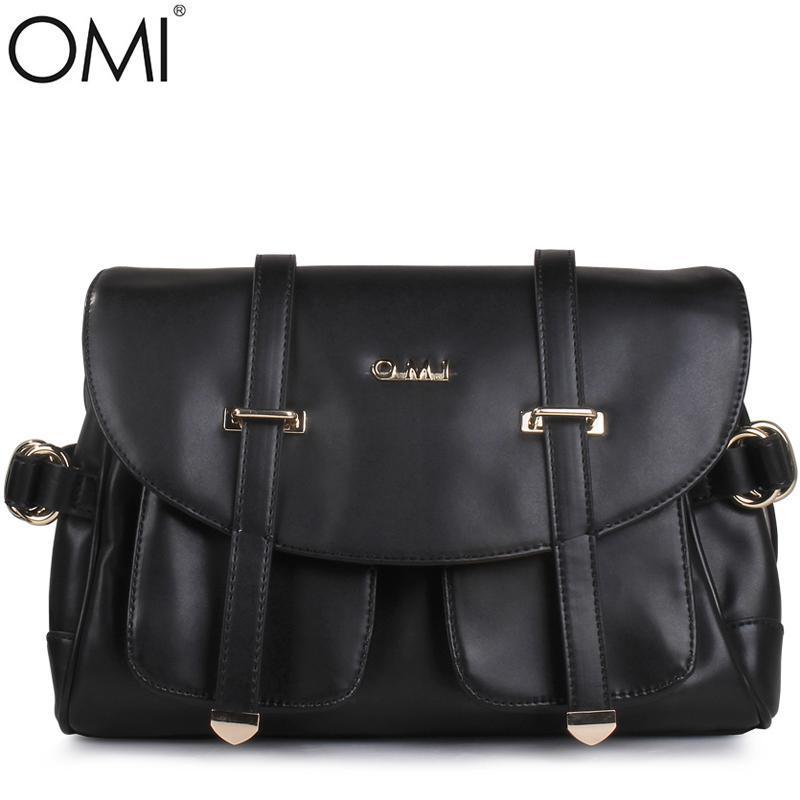 意大利欧米OMI 新款女包 日韩时尚 磁扣翻盖 P