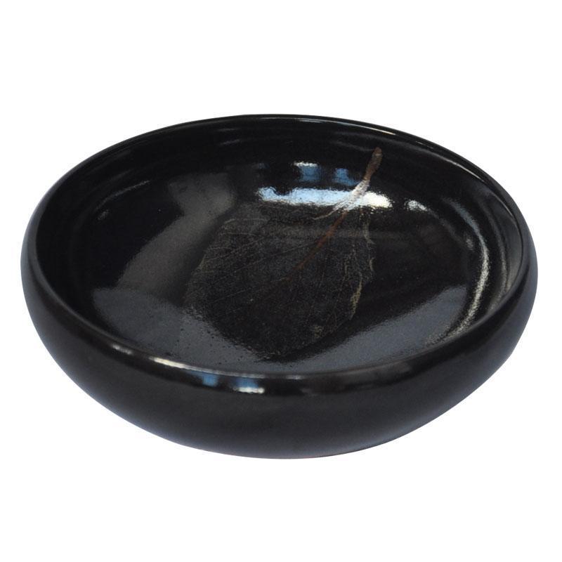 茶人收藏品木叶天目茶盏精品黑釉陶瓷功夫茶具个性杯