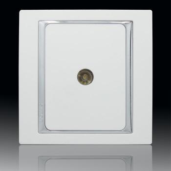 正品西蒙开关插座58系列 56系列升级版 单电视一位电视插座S55111