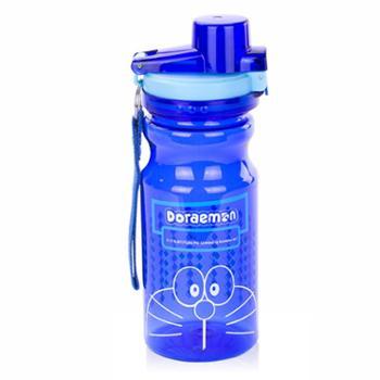 哆啦A梦双扣骑士杯DM-2550S运动杯户外杯便携杯塑料学生杯子