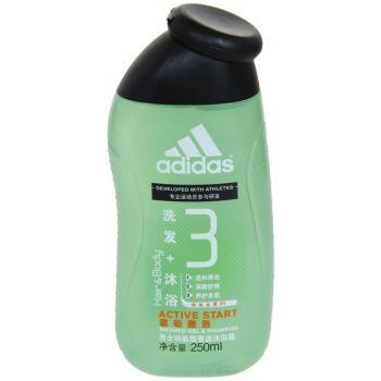 阿迪达斯adidas男士洗发沐浴(激活型)-250ml
