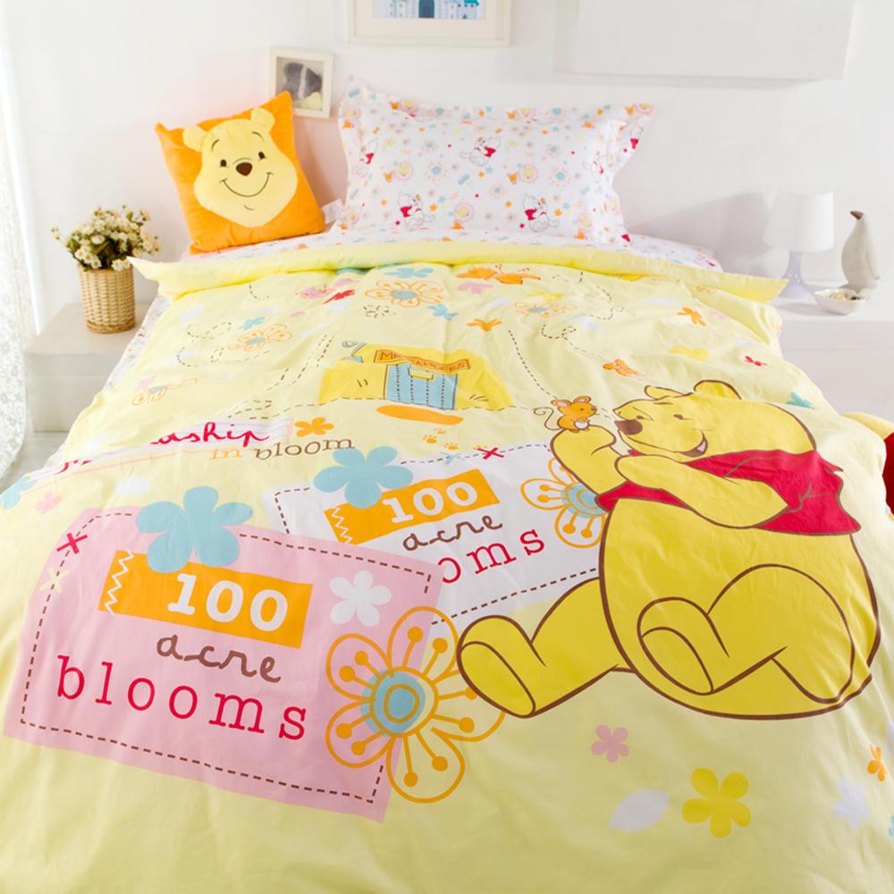迪士尼可爱维尼三件套儿童床品套件
