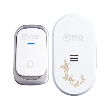 乔安L3无线门铃 智能家用电子门铃 老人呼叫器 穿墙 一拖一门铃