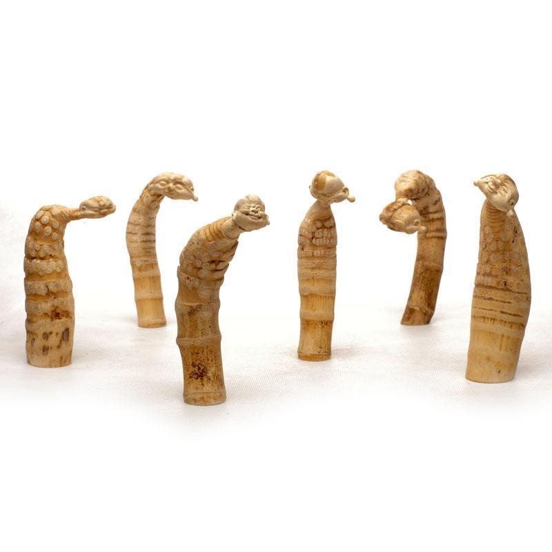 精品竹根竹雕工艺品人物纯手工雕刻微雕礼品精美摆件图片