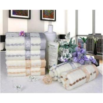 【橙屋】天琴在水一方纯棉毛巾1条装TQ-Y72 悠绵生态浴品