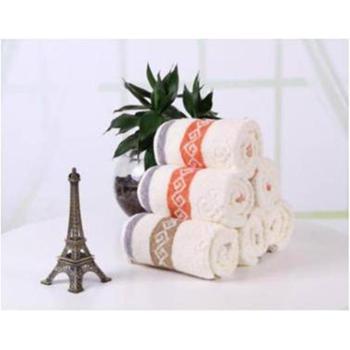 【橙屋】天琴中国结纯棉毛巾2条装TQ-Y90 悠绵生态浴品