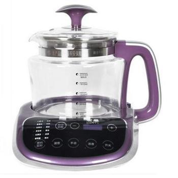 【橙屋】台湾宏惠全自动养生壶LY-A16加厚玻璃中药壶分体电煎药壶煮茶壶汉方