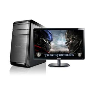 联想台式电脑锋行K450e四核i5-44608G1T2G独显游戏23寸屏
