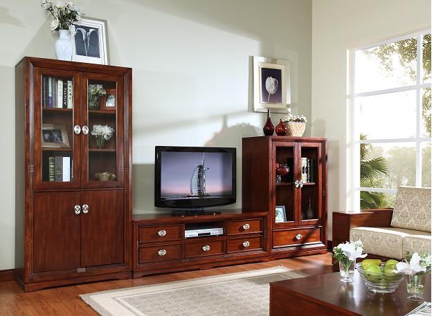 简欧风格家具,凯欧系列客厅组-k215高饰柜