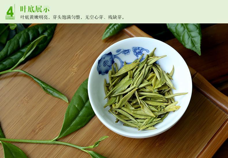 巴南银针绿茶特级100g 2015年明前新茶叶 重庆