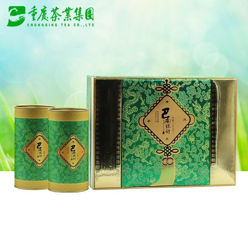 重庆茶业集团 巴南银针150g 绿茶叶 2015新茶
