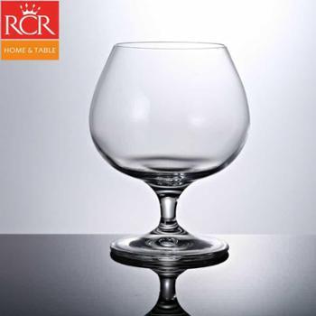 意大利RCR水晶玻璃白兰地杯红酒杯洋酒杯白酒杯酒具矮脚小酒杯