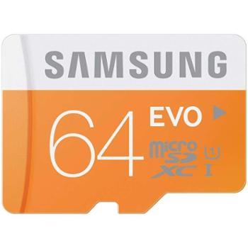 三星 64g 内存卡TF手机内寸卡通高速class10行车记录仪存储micro SD