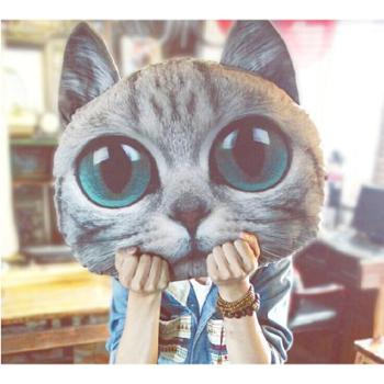 喵星人抱枕公仔创意玩偶猫咪可爱毛绒玩具男生日礼品情人节礼物