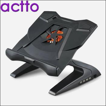 ACTTO韩国安尚笔记本电脑散热器15.6手提静音底座折叠支架NBS11H