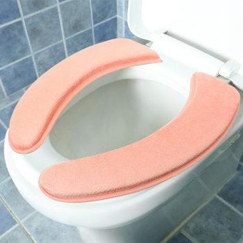 冬季加厚马桶垫 坐垫坐便器垫粘贴马桶套马桶圈马桶贴可水洗通用