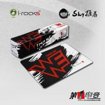 官方行货i-rocks/艾芮克IP1-WEWE战队LOL游戏鼠标垫irocks