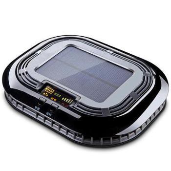 汽车太阳能车载空气净化器负离子氧吧香薰车内车用除甲醛去异烟味