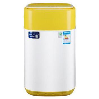 威力4公斤宝宝婴儿童迷你洗衣机全自动家用小型抗菌XQB40-1432YJ