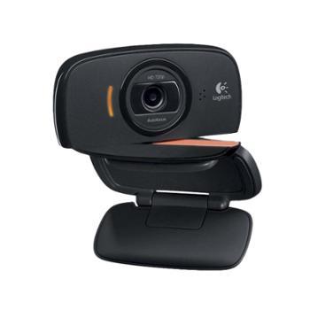 罗技C525高清网络主播直播摄像头电脑台式家用迷你免驱USB摄像头