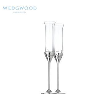 wedgwood王薇薇verawang香槟杯2个欧式婚礼结婚对杯