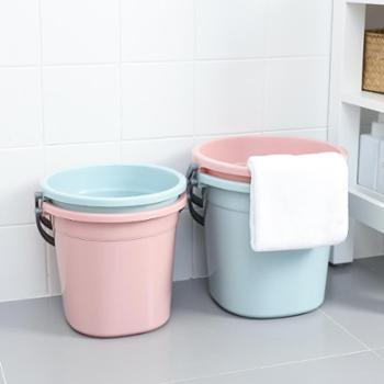 水桶家用手提塑料洗衣桶储水桶方形大号洗车拖把桶加厚多用家务桶