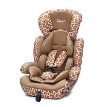 Abyy艾贝儿童安全座椅汽车用车载便携式婴儿9月-12岁0-4岁3C认证