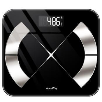 爱康唯智能脂肪称家用成人小巧精准女小型人体减肥电子体重体脂秤