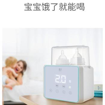 新贝温奶器消毒器二合一婴儿奶瓶恒温热奶器智能保温多功能暖奶器