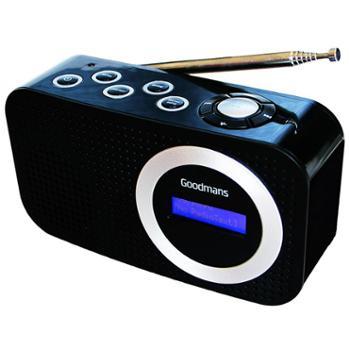 英国高灵敏度FM调频收音机 便携收音机DAB+数字广播 手机蓝牙音响