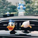 Asmile唐老鸭日本车载香水空调出风口汽车摆件韩国香薰氛可爱迪士尼车饰