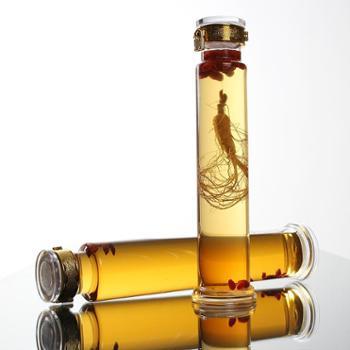 高硼硅玻璃泡酒瓶无铅人参泡酒坛子细长密封瓶2斤3斤5斤小酿酒罐