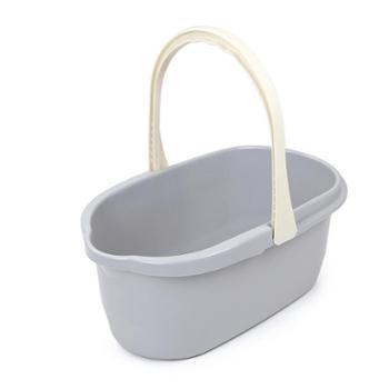 居家塑料长方形拖把桶加厚大水桶家用储水塑料桶手提平板拖布桶