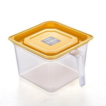 ROBOROBO/乐博乐博 密封罐带盖塑料收纳储物