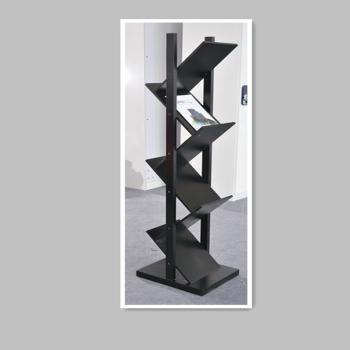 V形书架(一舍原宿、S12-2005、黑色)