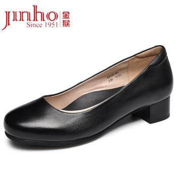 金猴通勤女鞋浅口街头简约商务正装女鞋日常休闲女鞋SQ55018A