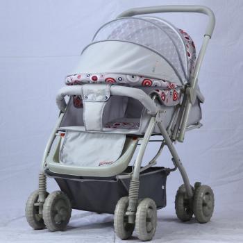 爱尔宝贝、申花婴幼儿童车系列/伞柄推车/手推车/双胞胎推车A808B
